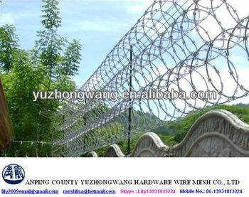 BTO22 Razor Barbed Wire factory price