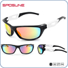 Outdoor Sports Polarized UV400 Sports Sunglasses With Custom Logo For Cycling Shield