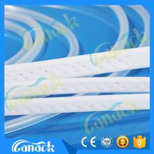 medical products Silicone Flat Perforated Drains with needle