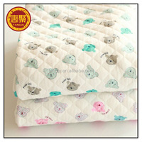 Knitted baby warm cotton bamboo fabric wholesale cloth factory price
