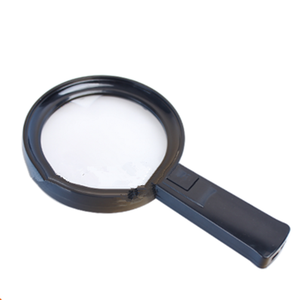 New Arrival 2.5x 6LED Light Handheld Magnifier High Power Loupe (BM-MG4221)