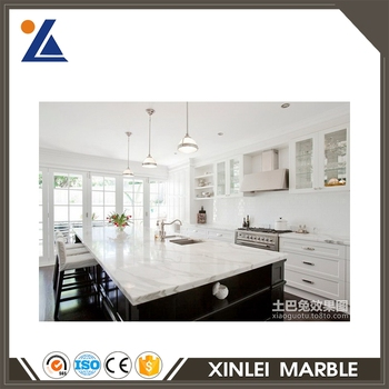 China cheap marmara white professional manufacture countertop marble