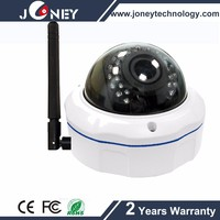 Security vandelproof dome 2.0MP wireless wifi ip camera