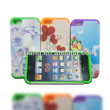Flower design For iphone 5 design you own cell phone case