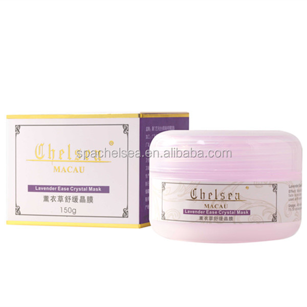 welcome OBM OEM Lavender Ease Crystal facial Mask