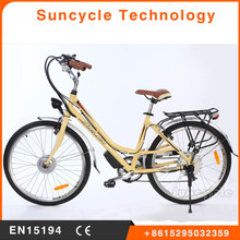 Suncycle 36v 250w electric bicycle magnetic motor e bike