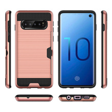 2 in 1 hybrid credit card case phone cover for Samsung Galaxy S10