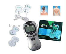 Latest handheld digital therapy machine acupuncture tens massager with conductive pads/gloves/socks