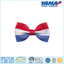 Fashion polyester handmade dog bow ties for dog pets accesories