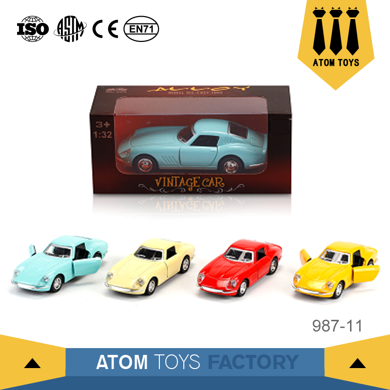 new toys wholesale metal diecast classic car model scale 1/32 for collected