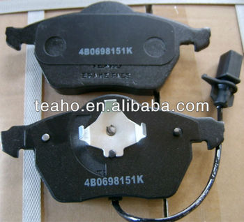 CAR PARTS,Brake Pads 4B0698151K for VW and SEAR CARS