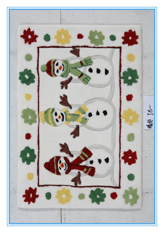 cheap Price Printed Bath Mat Changes Color