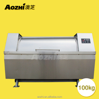 Aozhi large capacity 100kg to 300kg industry horizontal washing machine