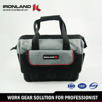 2016 Good quality best design canvas electric tool bag for men