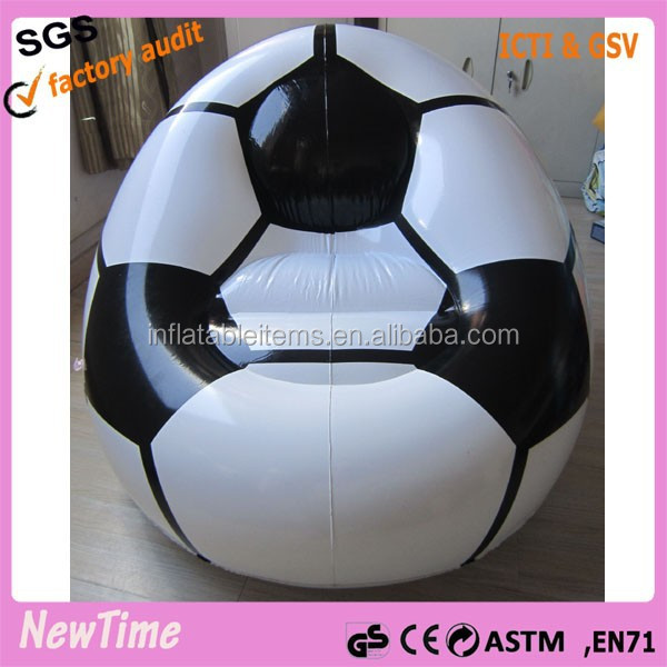 giant advertising inflatable football sofa