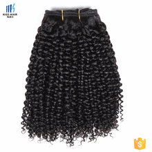 Best Selling Curly Style Kinky Curl Virgin Vietnam Human Hair Weaving