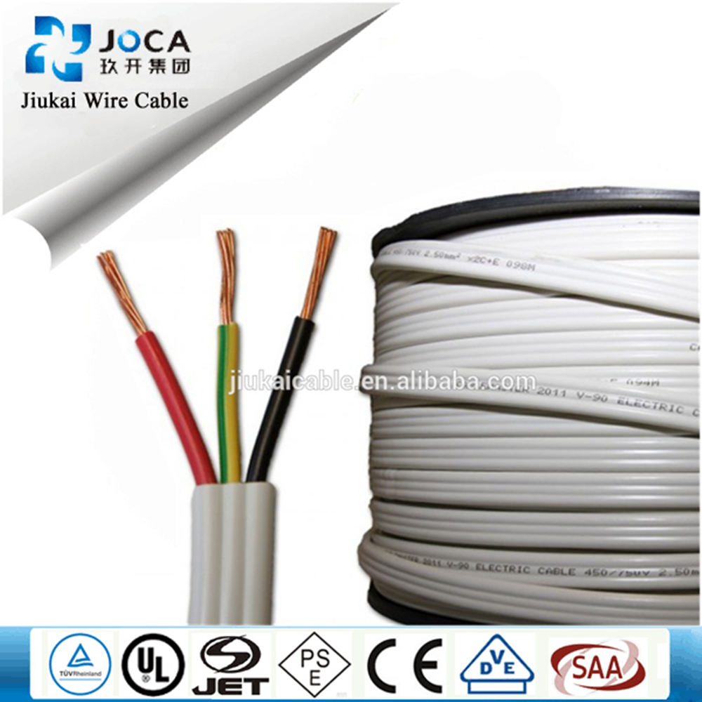 Australia Standard Copper Core PVC Insulated Wire /BV/THW/THHN Wire SAA CE Approved