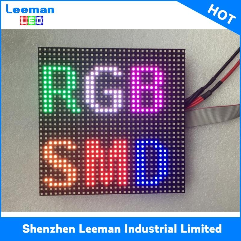 Professional p10 outdoor red led module with low price