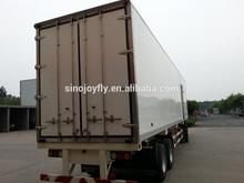 mobile refrigerated truck cargo box 6.4m 33cbm refrigerated truck body