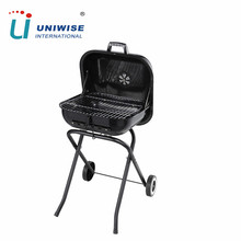 18.5 Inch Square Portable Folding Charcoal BBQ Grill Stands