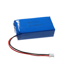 7.4v 5200mah lithiumy cell 3.7v for li- ion battery pack