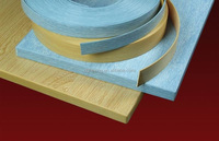 Countertop PVC Wood Grain Edge Band Strip Made in China