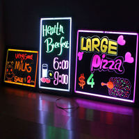 Wholesale Shenzhen alibaba express new innovation technology product 2013 led writing board led writing signboard led blackboard