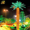 super brightness Landscape led artificial lighted decoration palm tree