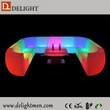 Popular Modern Hotel leisure LED Light Up Sofa Furniture ,Turkish Sofa Furniture,LED Circle Sofa