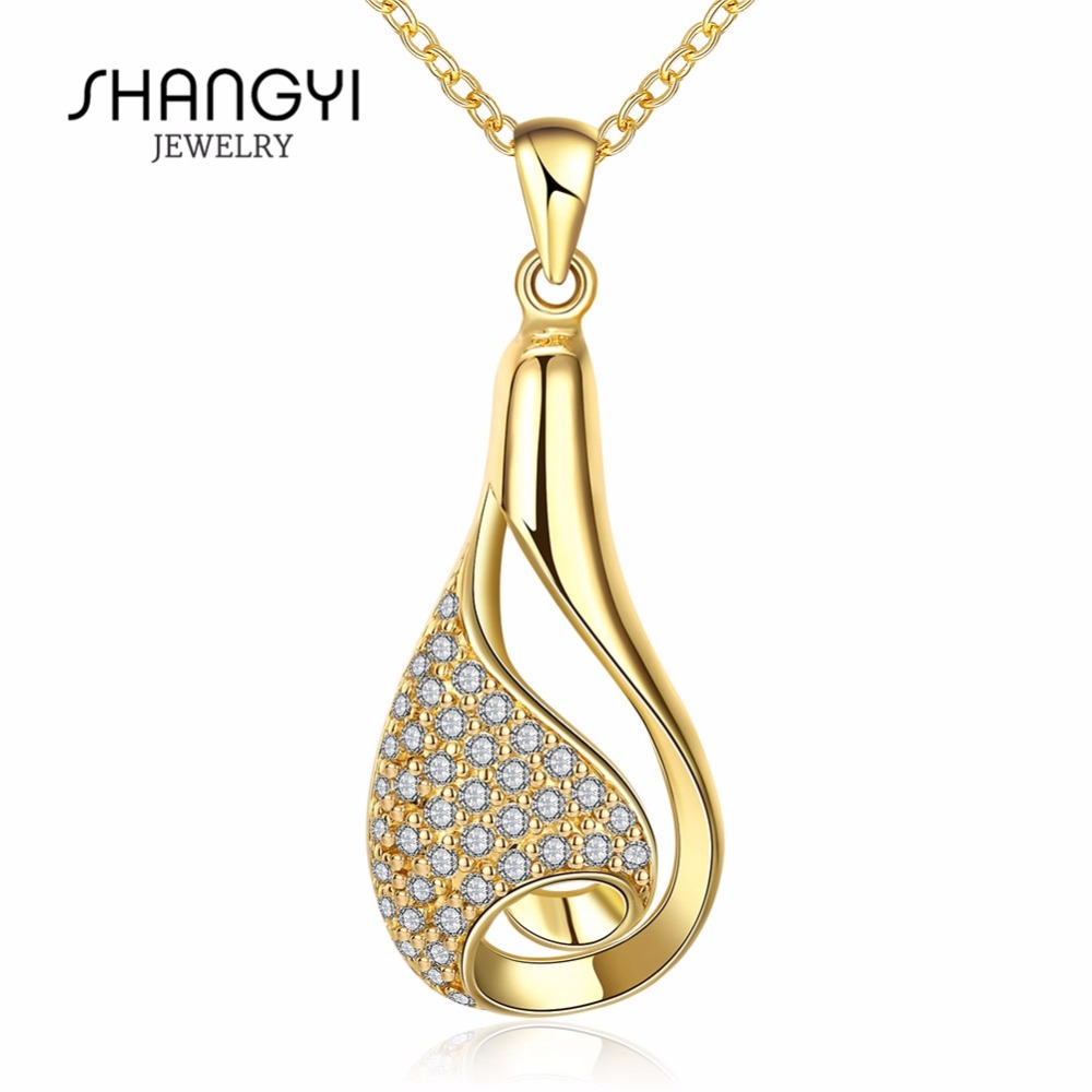 Fashion Jewellery 18K Gold Necklace Designs 2016