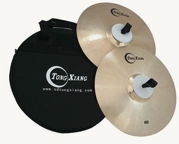 Orchestra cymbals marching cymbals 380mm marching cymbals