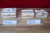Fuzhou Arts&Crafts Small Wooden Treasure Box/Chest Wholesale
