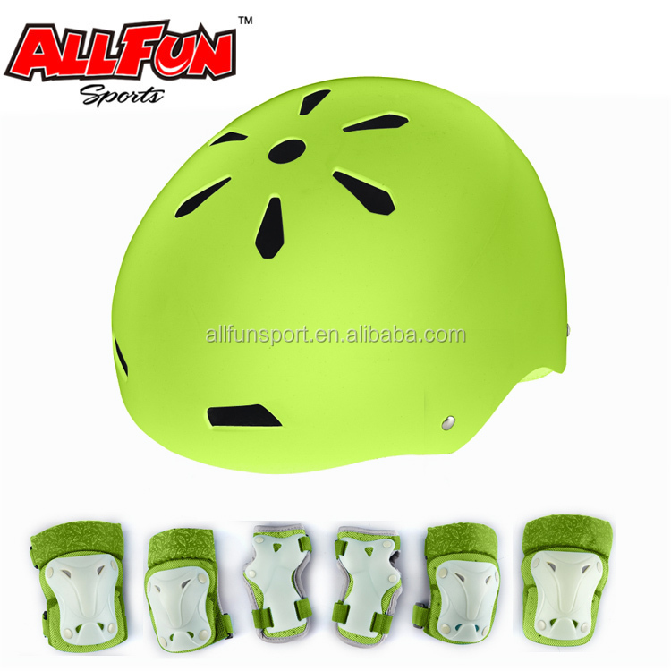 Sgs Certification Oem 6piece Set Kids Skate Bike Pads Gloves Helmet