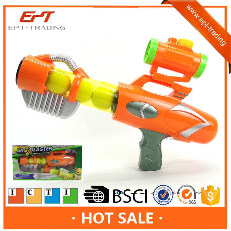 Hot sale Shooting game kids plastic airsof gun with EVA balls