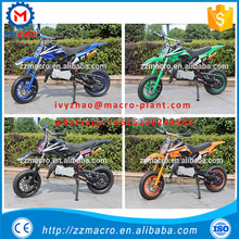 factory direct sale mini motorbicycle 49cc mini dirt bike pull start
