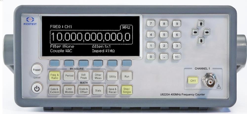 U6220A 400 MHz Frequency Counter