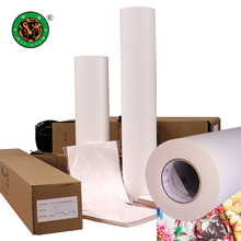 Premium quality paper factory 60GSM 80GSM 100GSM Heat Sublimation transfer printing paper roll
