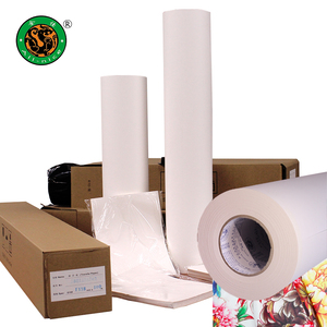 Premium quality paper factory 60GSM 80GSM 100GSM Heat Sublimation transfer paper roll