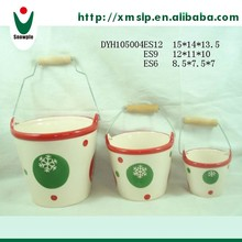 Best price ceramic flower pot feet manufacturers in china