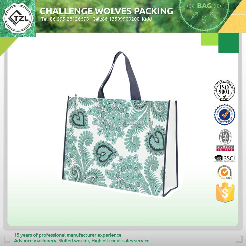 Full printing shopping non woven bag