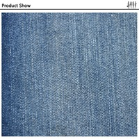 Enviroment Protect durable mercerized fabric cotton/spandex denim fabric mill