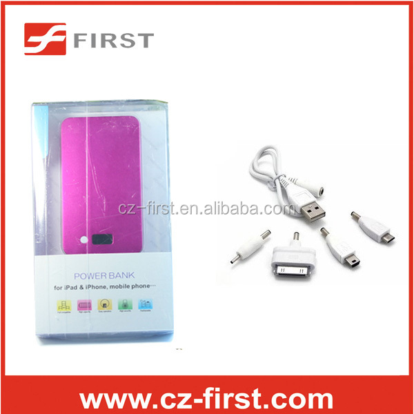 cheaper 4000mah power bank from china supplier