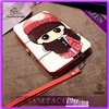 fashion girls cartoon wallet aluminium lady wallet