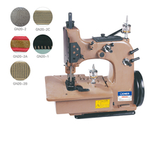 small industrial serger jute bag overlock machine
