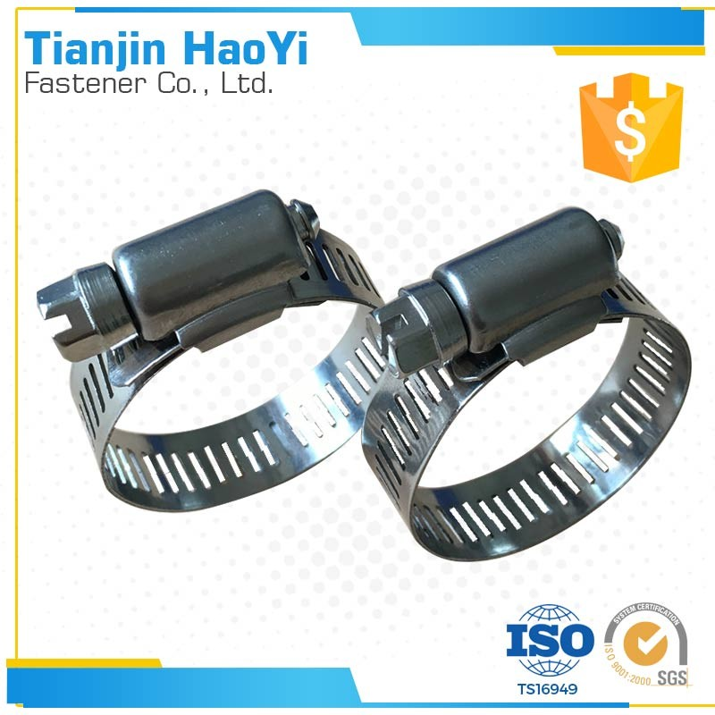The lock hose clamp gas pipe compression fittings o ring Ameria type hose clamps