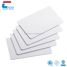 Contactless 13.56Mhz NTAG213 Printable Blank PVC NFC Card