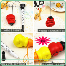 2016 Unique Big Gesture Bounce Pen/Boxing Pen /Finger hand pen Fist Pen