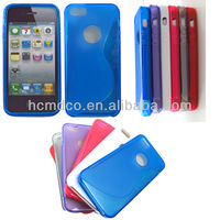 new arrive TPU GEL S design case for iphone 5