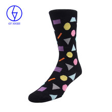 New multi colour mens casual over knee striped men socks