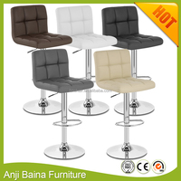 China supplier cheap bar stool chair with pedal